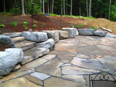 backyard stone ideas best 25 stone patios ideas on pinterest paving stone