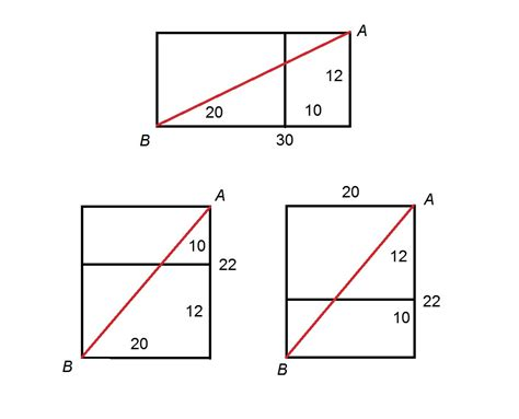 how long is each section of the sat how to find the diagonal of a prism sat math