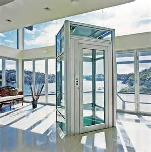 Homes With Elevators by High Tech Elevators Of The World