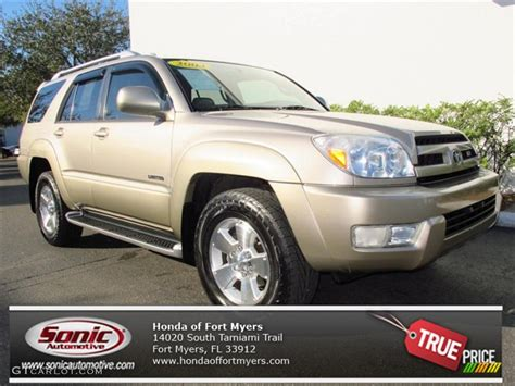 Taupe Paint 2004 dorado gold pearl toyota 4runner limited 76928673