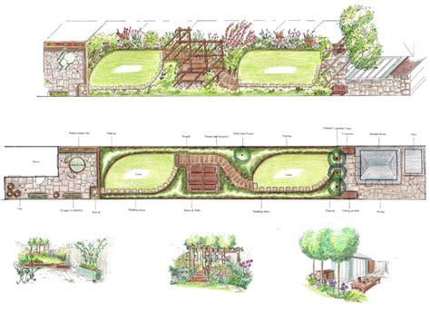 ideas for narrow gardens narrow garden design ideas search pacific