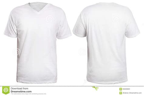 white v neck shirt mock up stock photo image of space