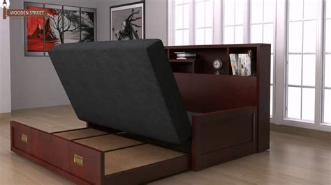 sofa bed design wooden sofa come bed design buy wooden