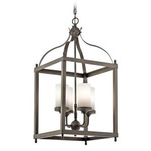 kichler outdoor lighting kichler lighting larkin outdoor hanging light 49590oz
