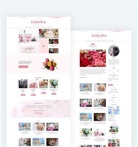 theme rose wordpress crimson rose wordpress theme web plant media