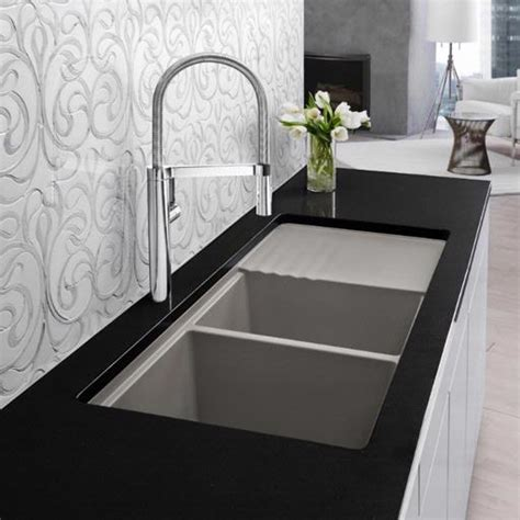 Blanco America Blancoprecis Multi Level White 440410 Blancoamerica Kitchen Sinks