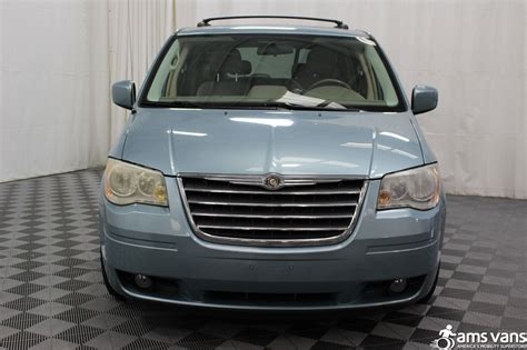used chrysler vans 2010 chrysler town and country wheelchair for sale