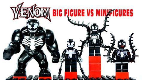 Lego Bootleg Venom lego venom big figure vs minifigures knockoffs