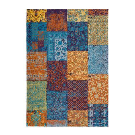 teppich baumwolle teppich aus baumwolle melody 150 multi vintage teppich