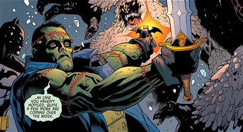 themes of justice in frankenstein batman and frankenstein 31 review inter comics com