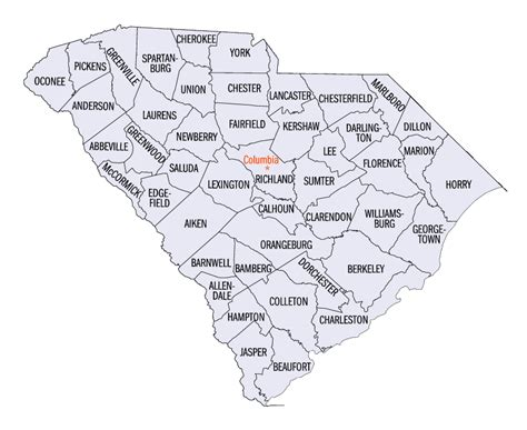 carolina counties map file south carolina counties map png wikimedia commons