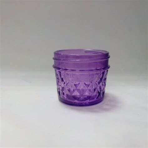 Quilted Jar by Aussie Quilted 120ml Jars Lids X 12