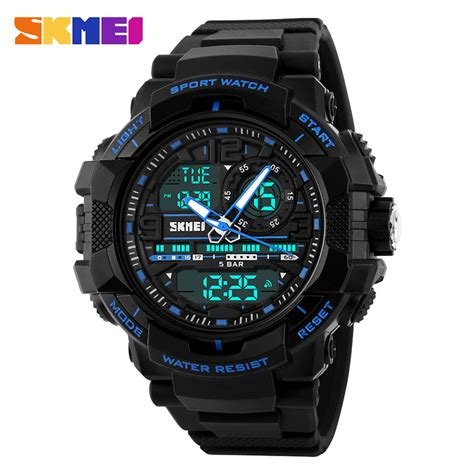 Skmei Jam Tanga Digital Dg1027 skmei jam tangan analog digital pria ad1164 black blue jakartanotebook