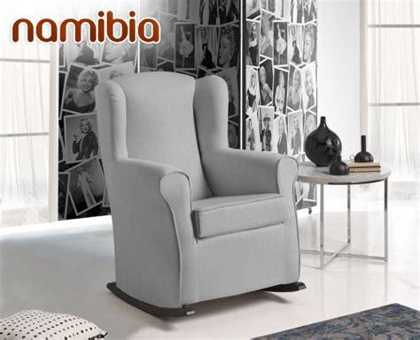 sillon mecedor sill 243 n mecedor de tela namibia de home