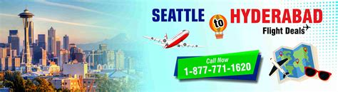 book best airfare flight deal from seattle to hyderabad