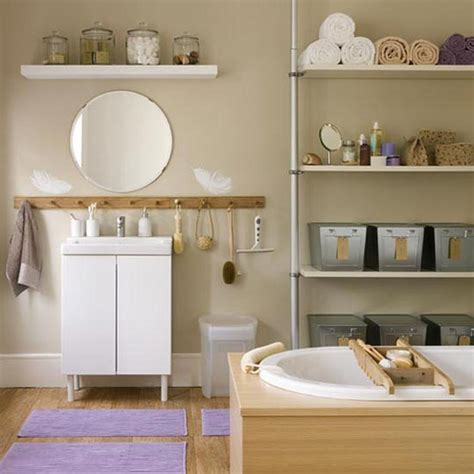 apartment bathroom storage ideas 43 calm and relaxing beige bathroom design ideas digsdigs