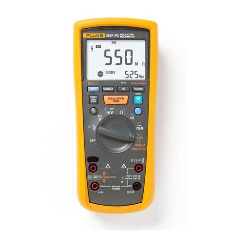 fluke 1587 fc 2 in1 insulation multimeter transcat