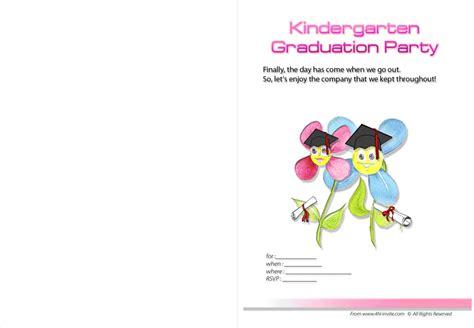 preschool graduation invitation templates free free printable invitationstemplates wordings