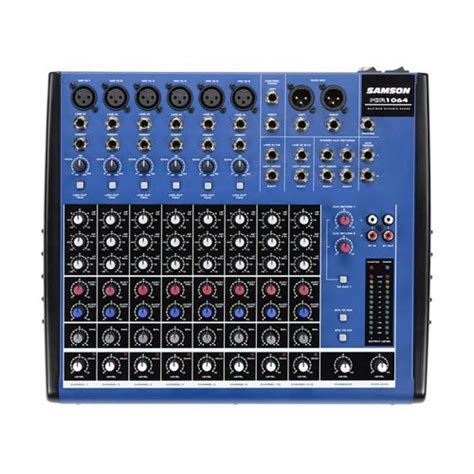 Mixer Audio Samson samson mdr1064 10ch mixer with 6 xlr inputs audio mixers