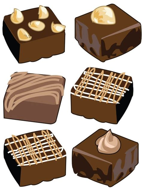 chocolate martini clipart brownie clipart retro