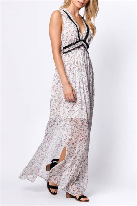 Paper Crane Floral Maxi Dress from Virginia by mod&soul