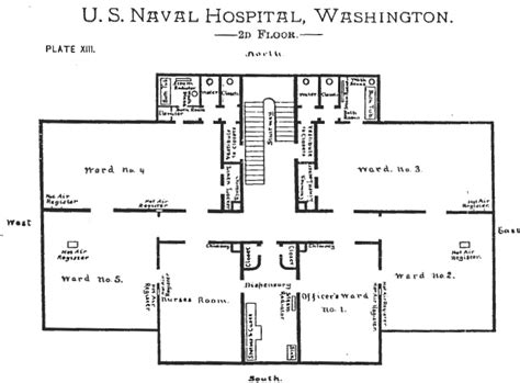 civil floor plan civil war washington d c the old naval hospital 921