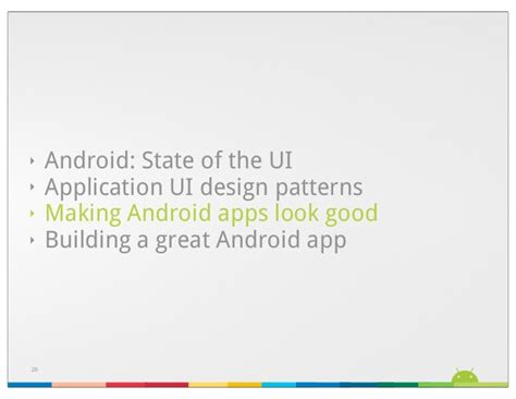android design patterns android android ui design patterns