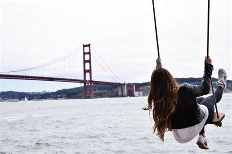 swing golden gate bridge kirby cove swing travel lifestyle
