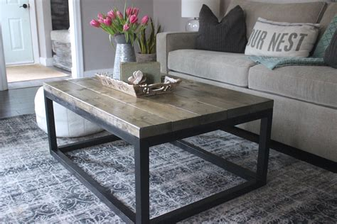 diy industrial coffee table white industrial coffee table diy projects