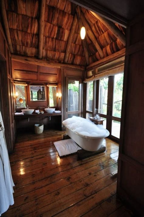 log cabin bathrooms 39 cool rustic bathroom designs digsdigs