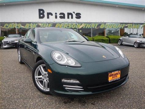 buy used porsche panamera green porsche panamera for sale used cars on buysellsearch