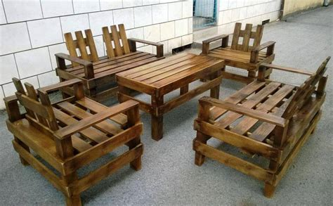 Wooden Pallet Patio Furniture Set Pallet Furniture Diy Patio Furniture With Pallets