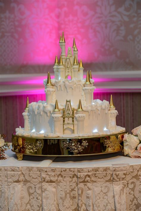 A winter storm hits Cinderella Castle this Wedding Cake