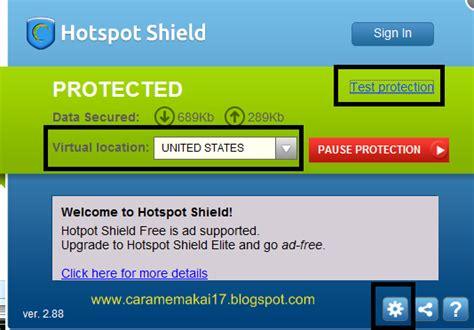 cara full version hotspot shield cara menggunakan hotspot shield artikel