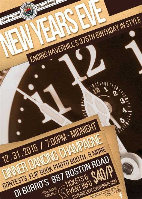 poster for new year haverhillchamber haverhill new year s caps
