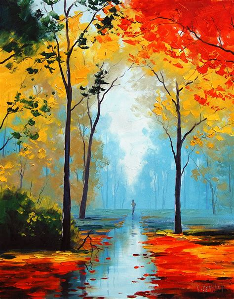 Landscape Artists Work 15 Landscape Paintings Of Nature
