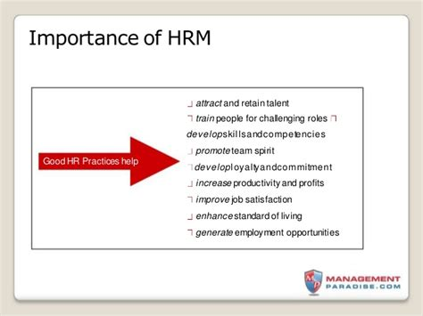 Personnel Management Mba Notes by How To Study Human Resource Management