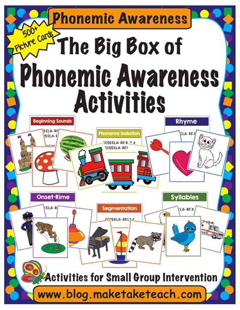 kindergarten activities phonemic awareness phonemic awareness archives make take teach