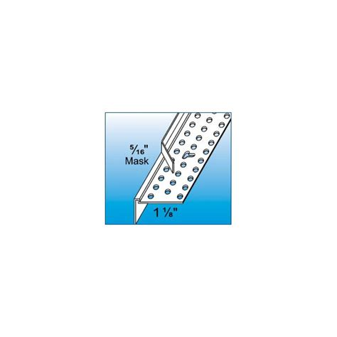 tear away bead for drywall trim tex flat tear away quot l quot bead 10 lou s drywall