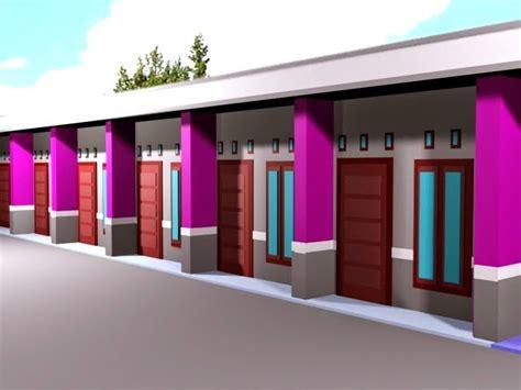 desain rumah kontrakan desain rumah kontrakan minimalis paling keren desain