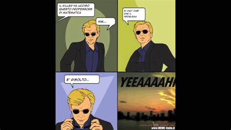 Csi Miami Meme - csi 4 pane comics 1 ita hd youtube
