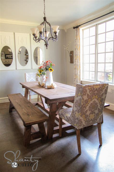 diy dining room tables diy 40 bench for the dining table informal dining rooms