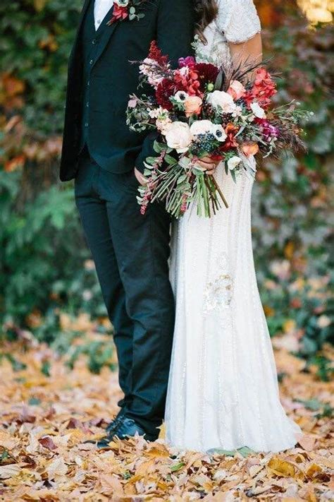 Autumn Silk Wedding Flowers by 1000 Images About Fall Wedding Flowers On