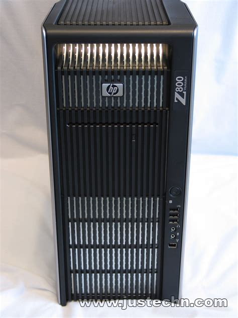 Review: HP Z800 12 core Workstation   JusTech'n