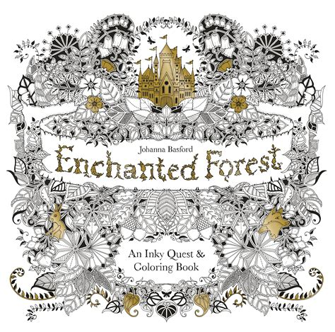 coloring book enchanted forest spark your creativity with these 7 coloring books
