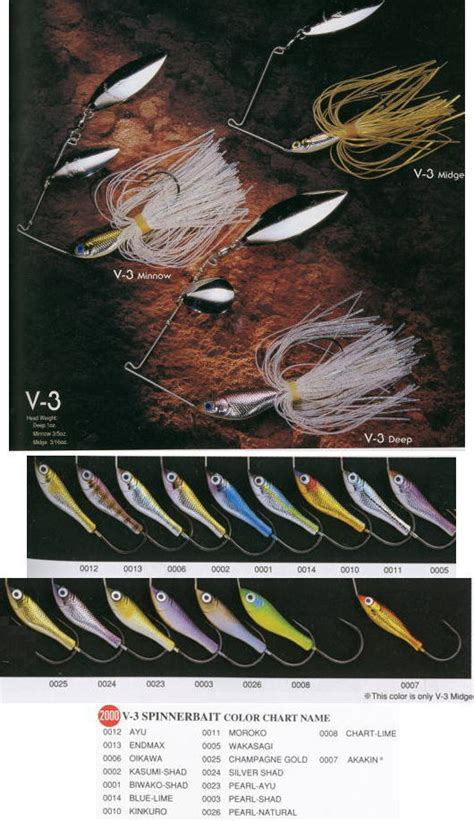 V Spiner Bait Lure By And1 One megabass v 3 spinnerbait 1 oz ichibantackle