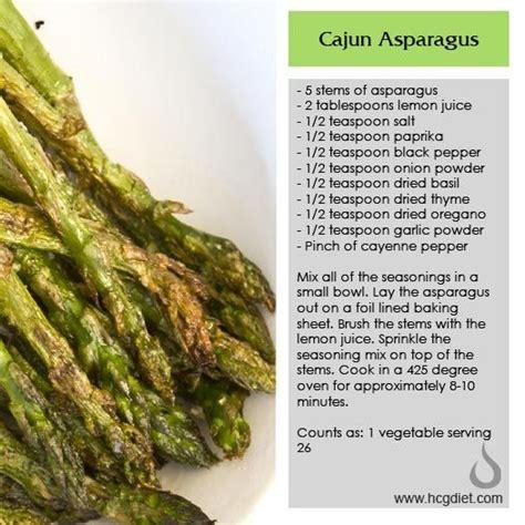Is Asparagus A Detox by Phase 2 Cajun Asparagus Healthy Hcg Veg