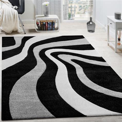 tappeti moderni pelo corto tappeto moderno soggiorno pelo corto motivo onde bianco
