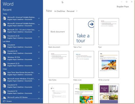 Microsoft Office Word Mobile Office For Windows 10 Now Available For In Stable