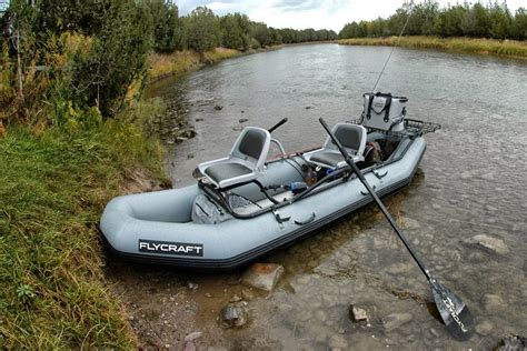 inflatable fishing boat video flycraft is versatile inflatable fishing boat for personal
